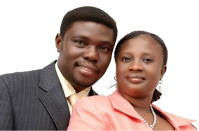 Pastor 'Diran Ajimati and wife